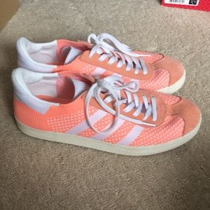 Bright Pink Adidas Sneakers